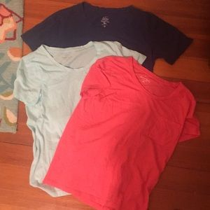 J.Crew Garment dyed tee. 3x. size XS